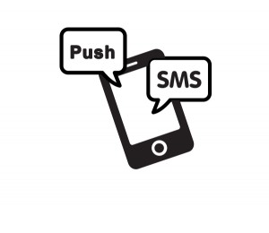 Email marketing mobile messaging - SMS and push