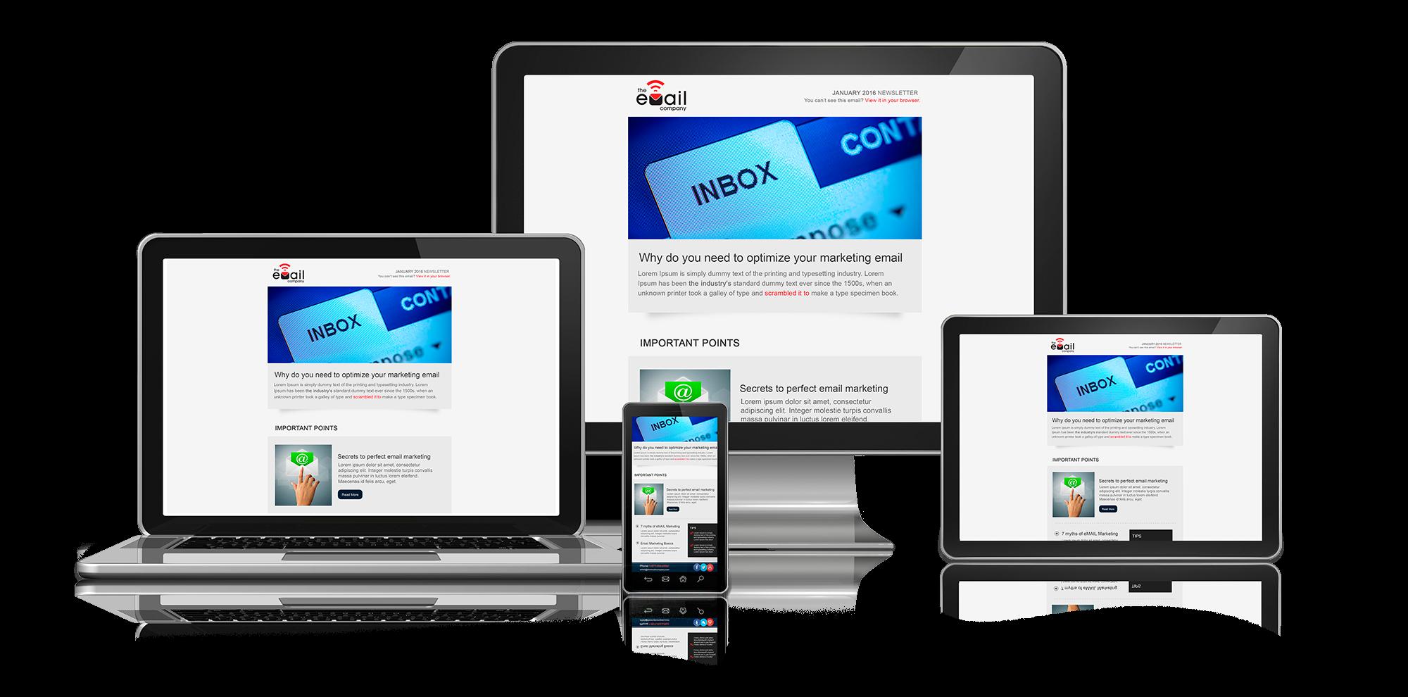 eMail Marketing Portfolio