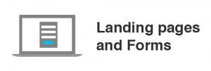 eMail Marketing Landing Page and Forms