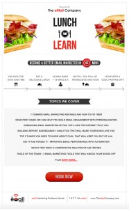 Lunch and Learn Email
