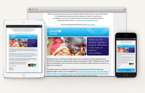 Unicef-Canada-Newsletter