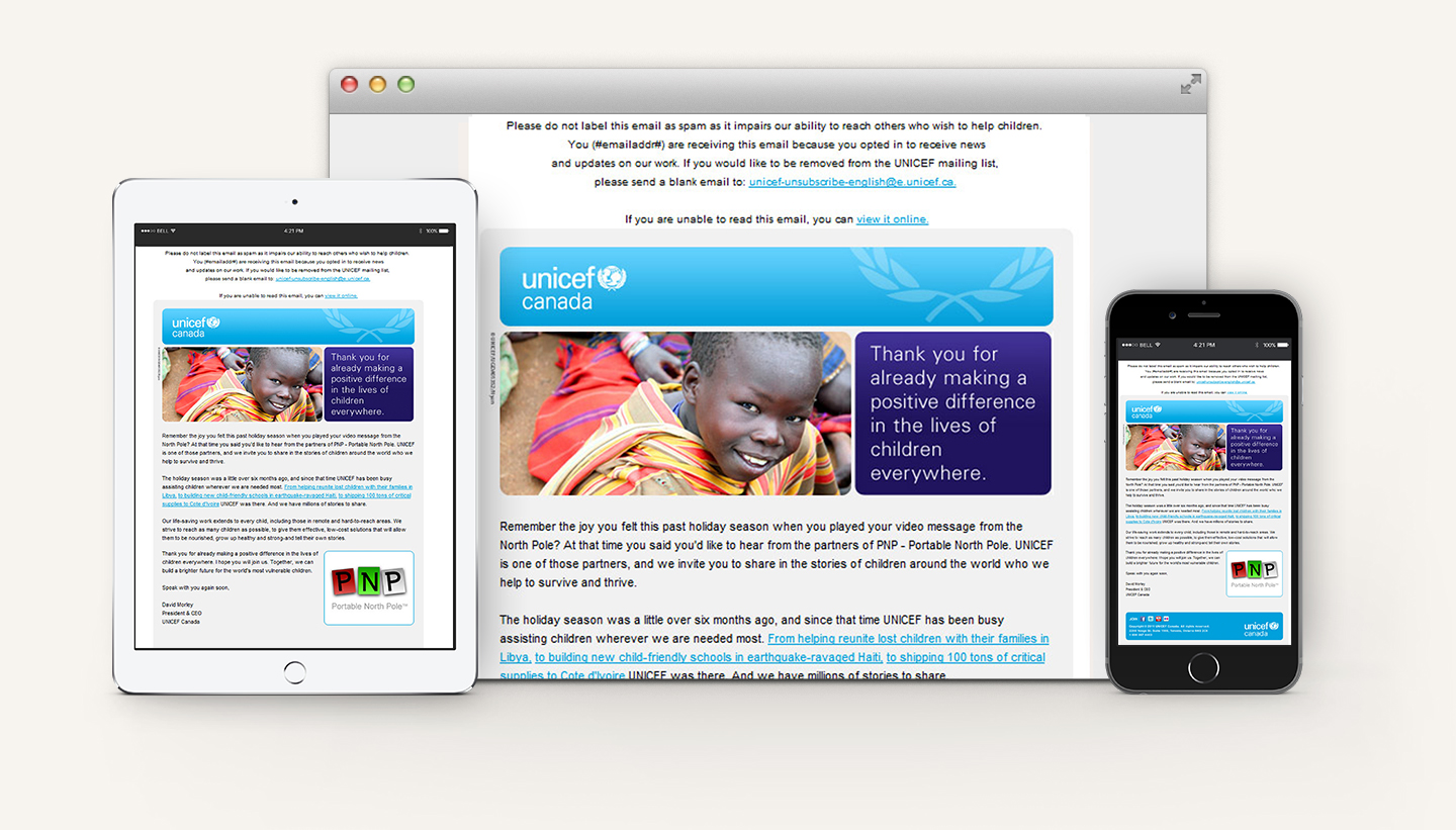 Unicef-Canada-Newsletter